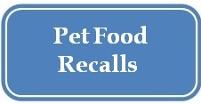 Broadlands / Ashburn, VA - Stream Valley Veterinary Hospital - Pet Food Recalls